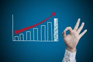 Kursanstieg bei Aktien