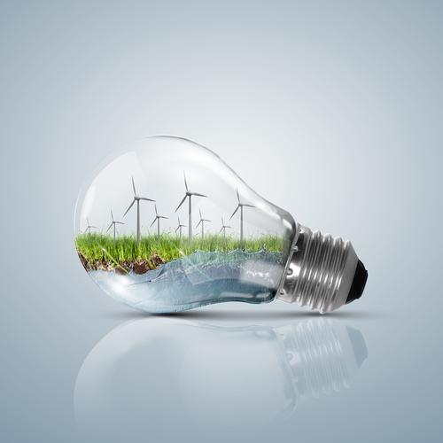 Strom aus sauberer Technologie