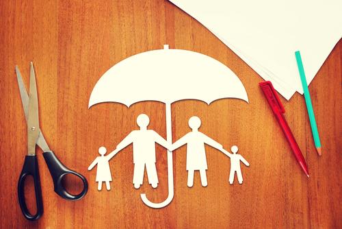 Lebensversicherung zum Schutz der Familie